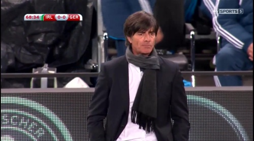 Joachim Löw – 2nd half – Ireland v Germany 12