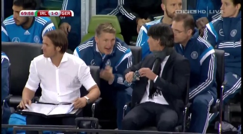 Joachim Löw – 2nd half – Ireland v Germany 13