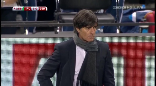 Joachim Löw – 2nd half – Ireland v Germany 14