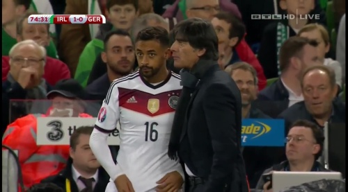 Joachim Löw – 2nd half – Ireland v Germany 15