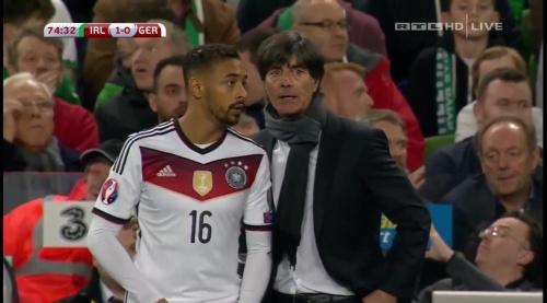 Joachim Löw – 2nd half – Ireland v Germany 16