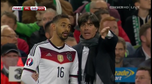 Joachim Löw – 2nd half – Ireland v Germany 19