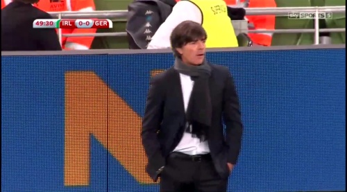 Joachim Löw – 2nd half – Ireland v Germany 2
