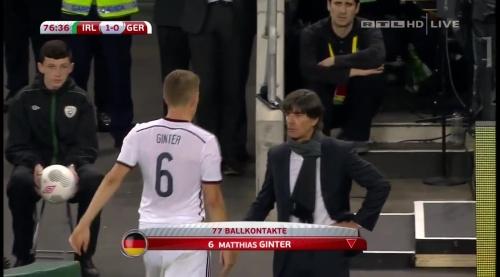 Joachim Löw – 2nd half – Ireland v Germany 21