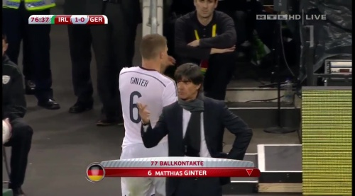 Joachim Löw – 2nd half – Ireland v Germany 22
