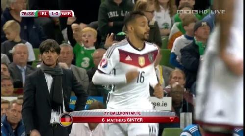 Joachim Löw – 2nd half – Ireland v Germany 23