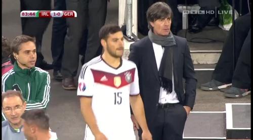 Joachim Löw – 2nd half – Ireland v Germany 25