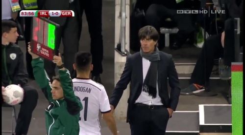 Joachim Löw – 2nd half – Ireland v Germany 26