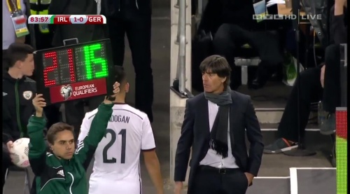 Joachim Löw – 2nd half – Ireland v Germany 27