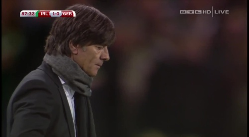 Joachim Löw – 2nd half – Ireland v Germany 28