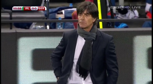 Joachim Löw – 2nd half – Ireland v Germany 3