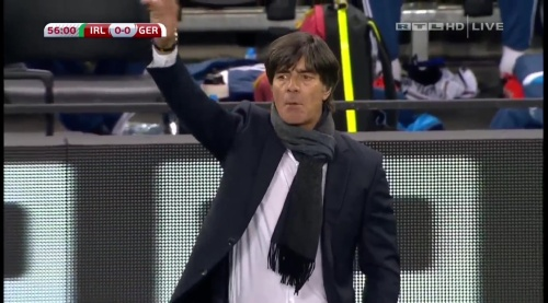 Joachim Löw – 2nd half – Ireland v Germany 4