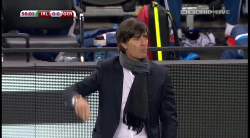 Joachim Löw – 2nd half – Ireland v Germany 5
