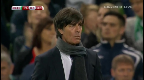 Joachim Löw – 2nd half – Ireland v Germany 8