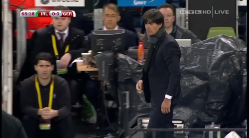 Joachim Löw – 2nd half – Ireland v Germany 9