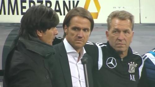 Joachim Löw – Germany v Georgia 1st half 1