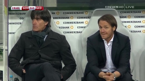 Joachim Löw – Germany v Georgia 1st half 11