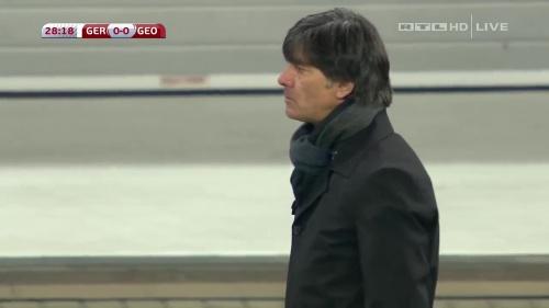 Joachim Löw – Germany v Georgia 1st half 12