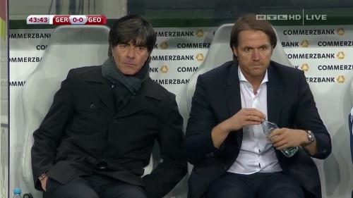 Joachim Löw – Germany v Georgia 1st half 13