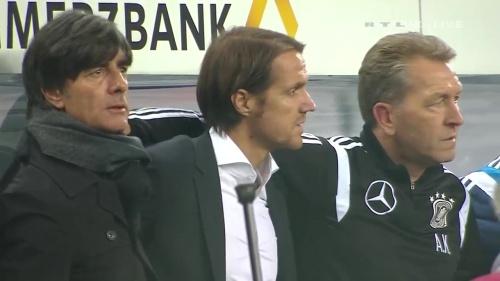 Joachim Löw – Germany v Georgia 1st half 2