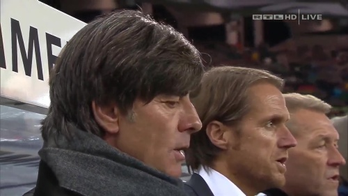 Joachim Löw – Germany v Georgia 1st half 6