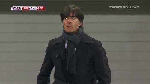 Joachim Löw – Germany v Georgia 2nd half 11