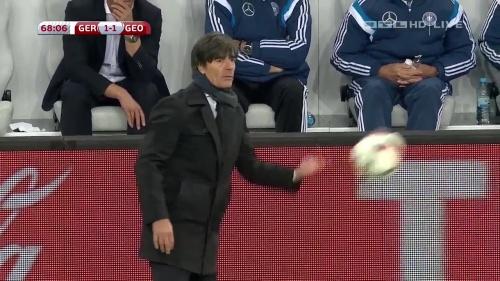 Joachim Löw – Germany v Georgia 2nd half 14