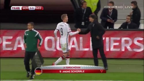 Joachim Löw – Germany v Georgia 2nd half 16
