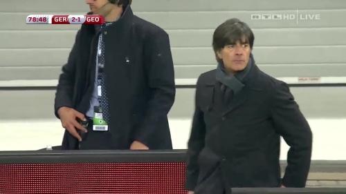 Joachim Löw – Germany v Georgia 2nd half 17