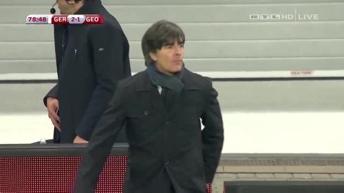Joachim Löw – Germany v Georgia 2nd half 18