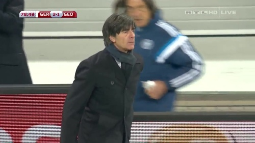 Joachim Löw – Germany v Georgia 2nd half 19