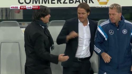 Joachim Löw – Germany v Georgia 2nd half 2