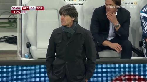 Joachim Löw – Germany v Georgia 2nd half 28