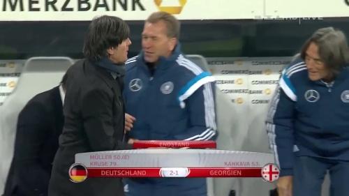 Joachim Löw – Germany v Georgia 2nd half 29
