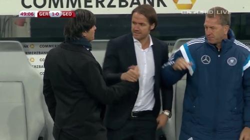 Joachim Löw – Germany v Georgia 2nd half 3