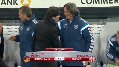 Joachim Löw – Germany v Georgia 2nd half 30