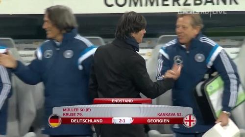 Joachim Löw – Germany v Georgia 2nd half 31