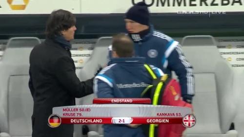 Joachim Löw – Germany v Georgia 2nd half 32