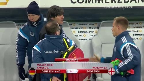 Joachim Löw – Germany v Georgia 2nd half 33