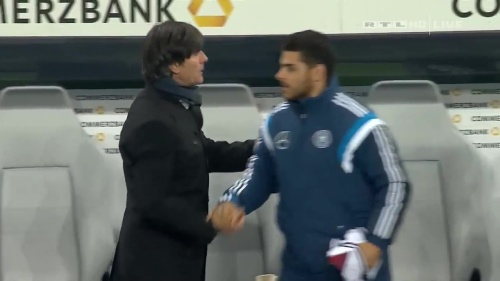 Joachim Löw – Germany v Georgia 2nd half 34