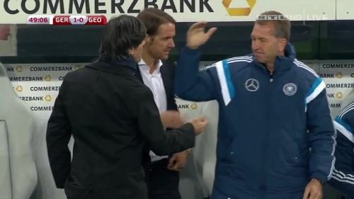 Joachim Löw – Germany v Georgia 2nd half 4