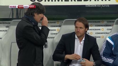 Joachim Löw – Germany v Georgia 2nd half 9