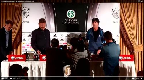 Joachim Löw – Irland-Deutschland press conference 2