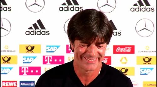 Joachim Löw – Irland-Deutschland press conference 27