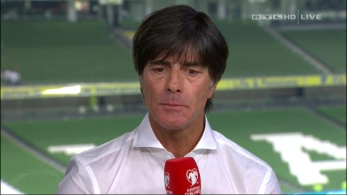 Joachim Löw – post-match show – Ireland v Germany 10