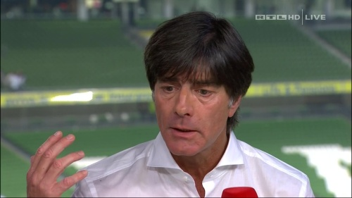 Joachim Löw – post-match show – Ireland v Germany 12