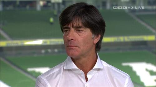 Joachim Löw – post-match show – Ireland v Germany 22