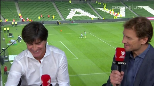 Joachim Löw – post-match show – Ireland v Germany 23