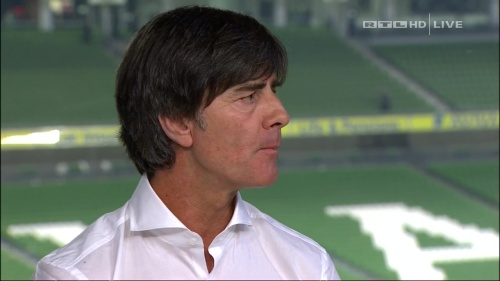 Joachim Löw – post-match show – Ireland v Germany 25