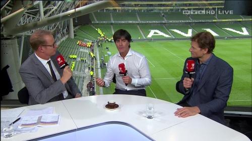 Joachim Löw – post-match show – Ireland v Germany 37